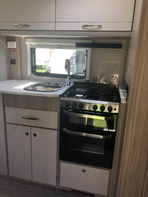 2020 Coachman Acadia 460 kitchen