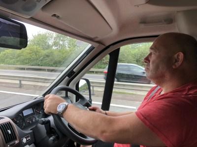 driving a motorhome