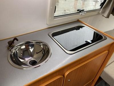 2020 Go-Pod Platinum micro-tourer kitchen