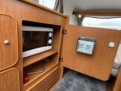 2020 Go-Pod Platinum micro-tourer microwave