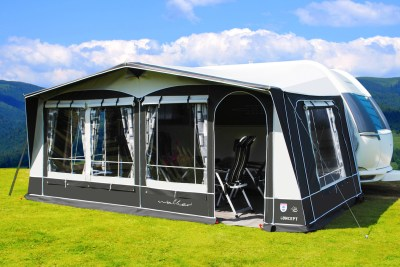 Walker Concept seasonal pitch awning