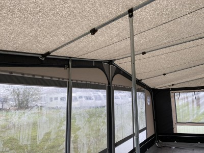 extra awning pole for stability