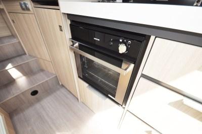 2020 Adria Compact Supreme DL kitchen