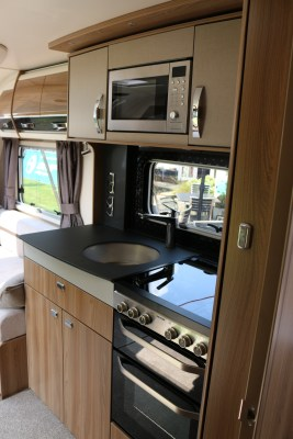 2020 Swift Elegance Grande 850 kitchen