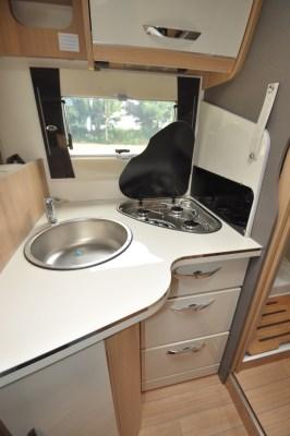 2020 McLouis Fusion 367 motorhome kitchen