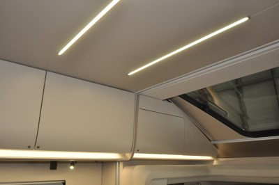 2021 Adria Matrix Supreme 670SL strip lighting