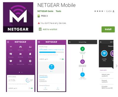 Netgear mobile app