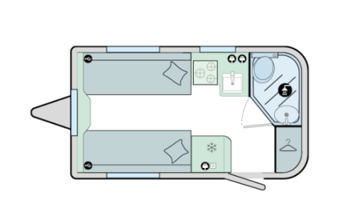 Discovery floorplan