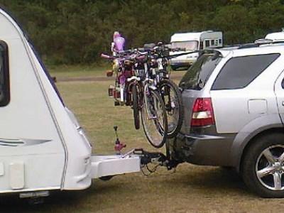 caravan bike carrier