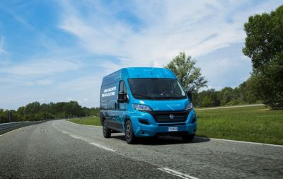 FiatDucato electric motorhome base vehicle