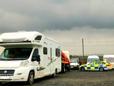 Stolen motorhome recovery