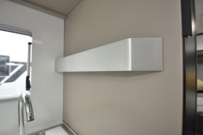 Adria Compact Supreme SC motorhome kitchen