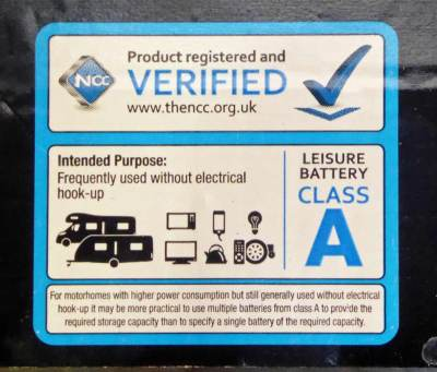 NCC battery verification class A