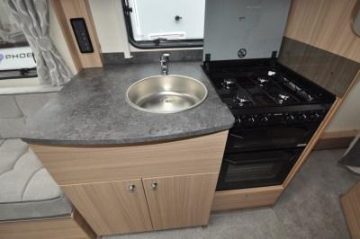 2021 Bailey Phoenix+ 640 kitchen