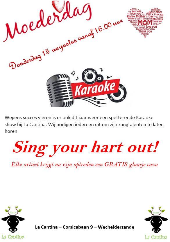 Moederdag - karaoke