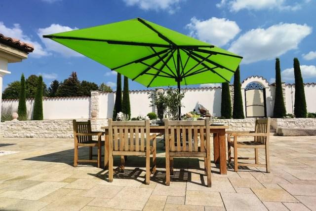 Sonnenschirm Big Ben Freestyle grün
