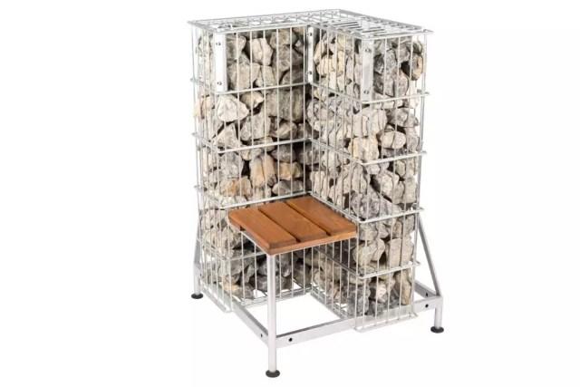 Multicube Gabione Sitzecke