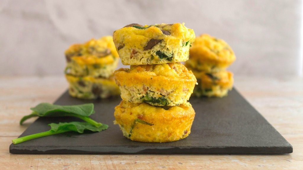 low carb Egg muffin