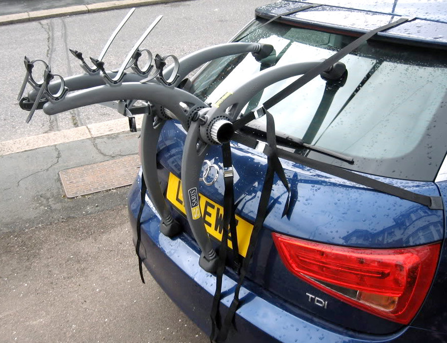 Audi A4 Estate Bike rack