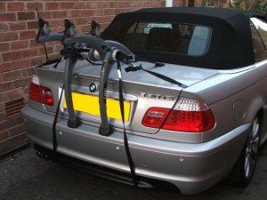 BMW Bike Rack