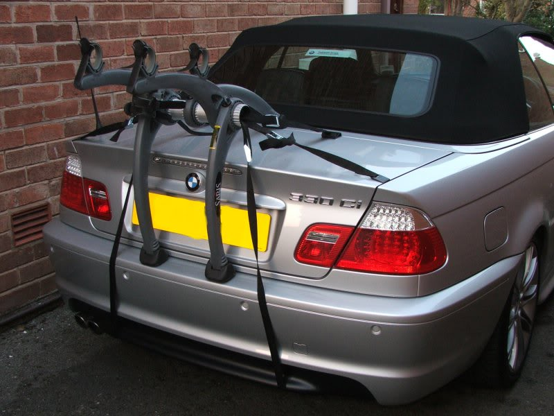 BMW 2 Series Convertible Bike Rack