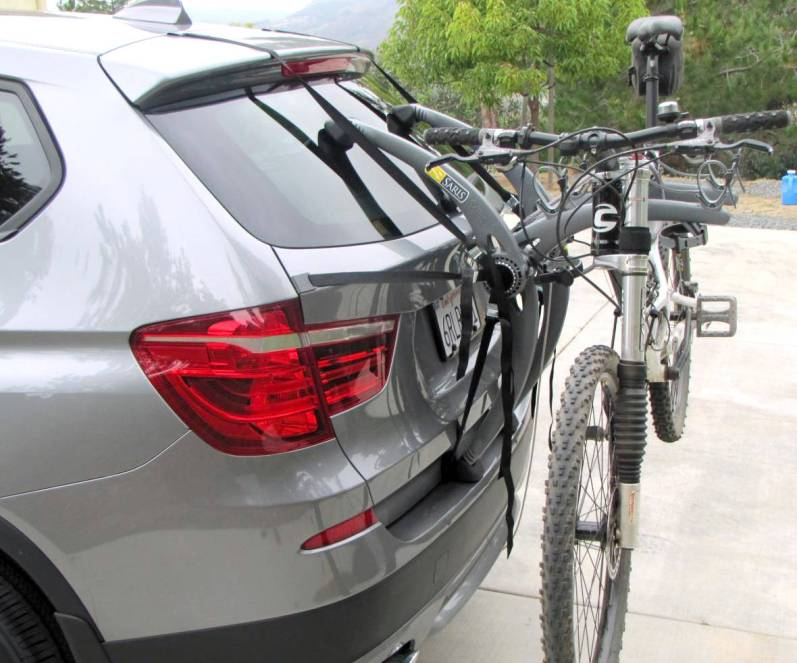 Renault Grand Scenic Bike Rack
