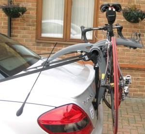 Convertible Car Bike Rack - shown on Mercedes Benz SLK