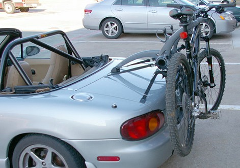 Mazda Mx5 Bike Rack 2 Bike Rack For Mk1 Mk2 Amp Mk3