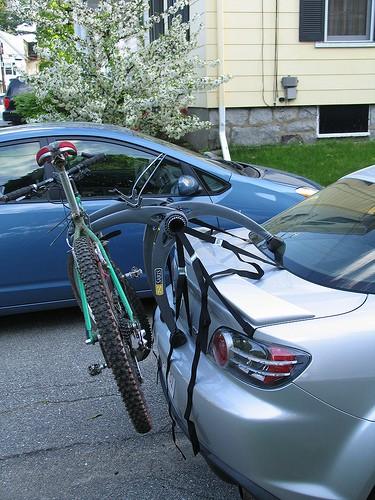 Mazda RX8 Bike Rack