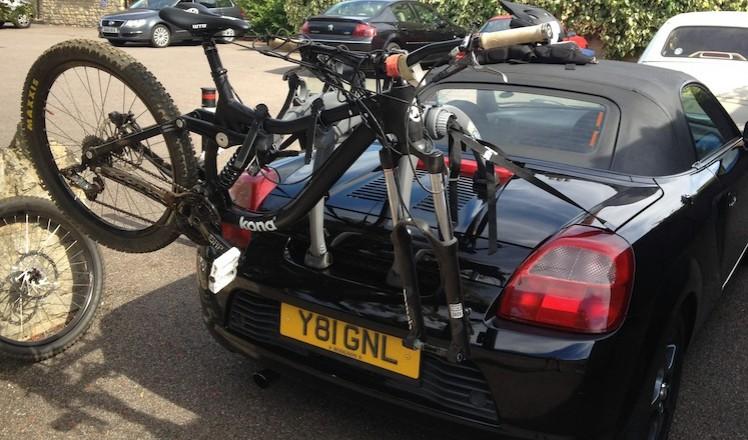 Toyota Mr2 Bike Rack Modern Arc Based Design