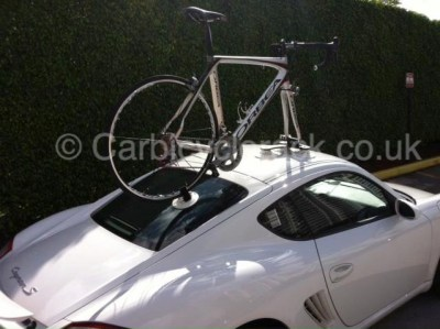 Vacuum cup Porsche Cayman Bike Rack