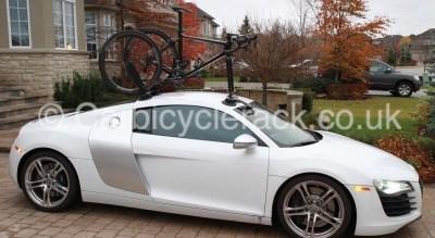 Audi R8 Bike Rack