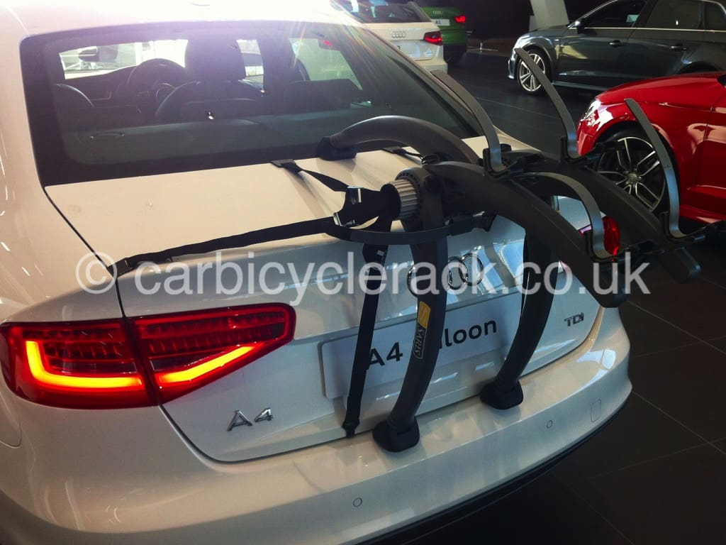 Audi A4 Saloon Bike Rack - Modern Arc Based Design