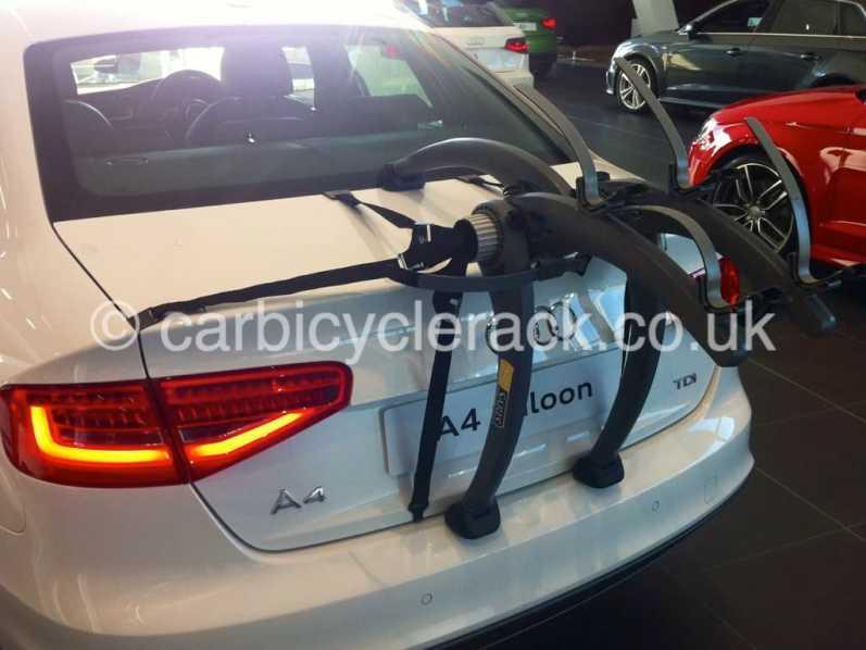 Audi A4 Saloon Bike Rack Modern Arc Based Design