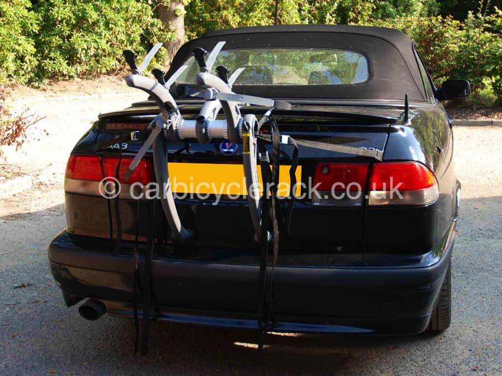 Saab 93 Convertible Bike Rack : Modern Arc Based Design