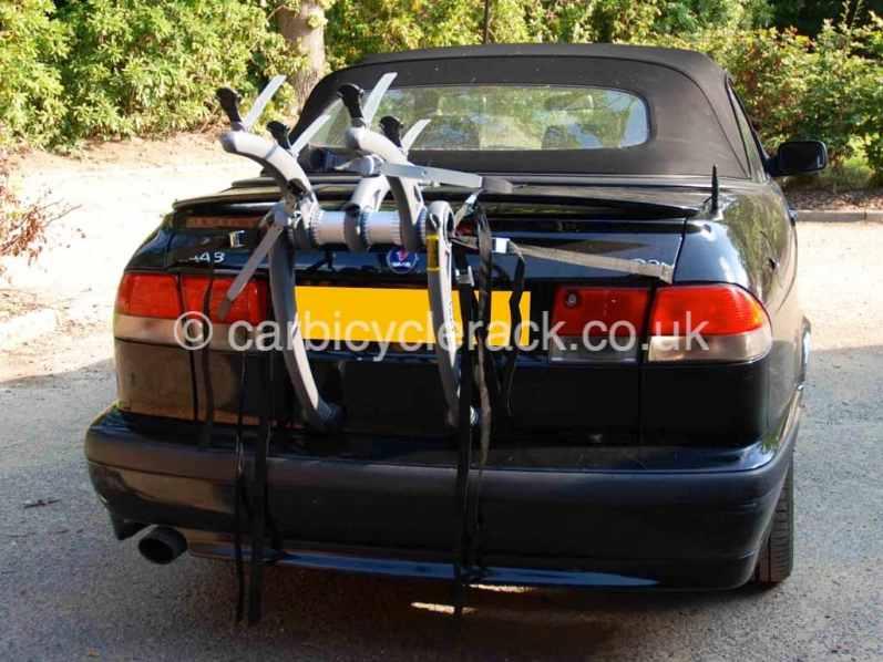 Saab 93 Convertible Bike Rack