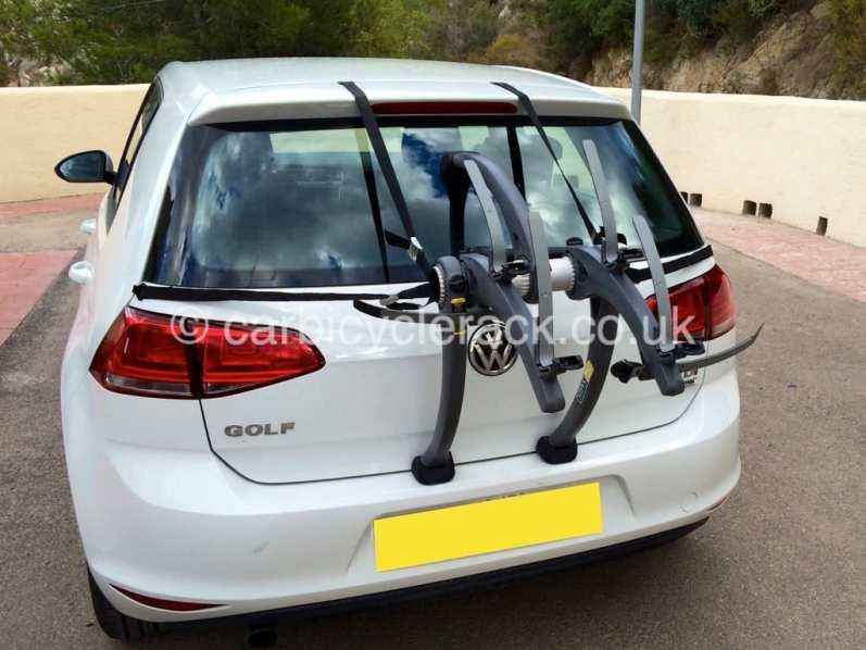 VW Touran bike rack