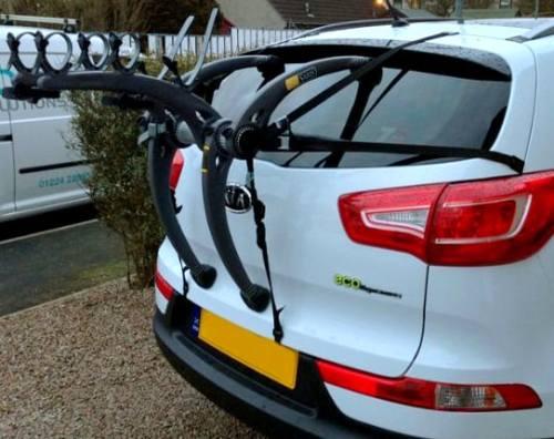 Nissan Pathfinder Bike rack