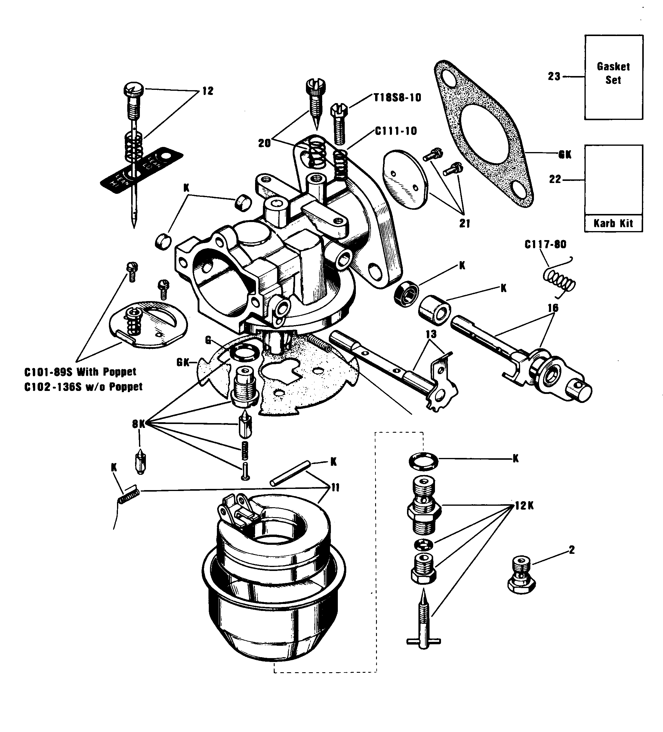 Zenith 13208 carburetor kit float and manual rh carbkitsource 690194 carburetor parts diagram keihin carburetor parts diagram