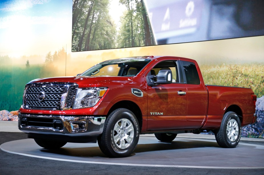 2017 Nissan Titan King Cab at Chicago Auto Show