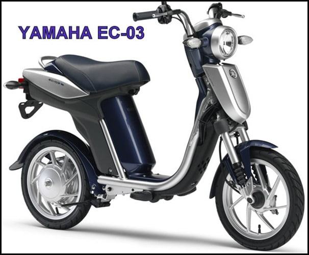 YAMAHA ZERO EMISSION SCOOTER EC 03
