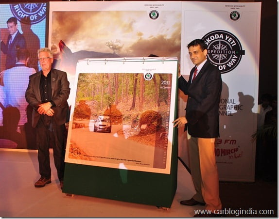 skoda yeti expidition calender