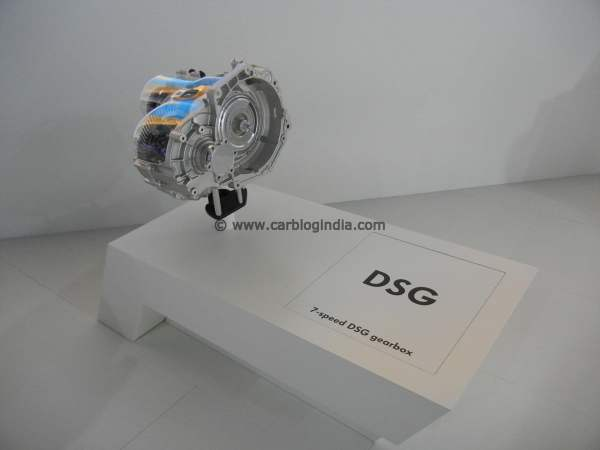 Volkswagen DSG Automatic Dual Clutch Transmission System Gearbox