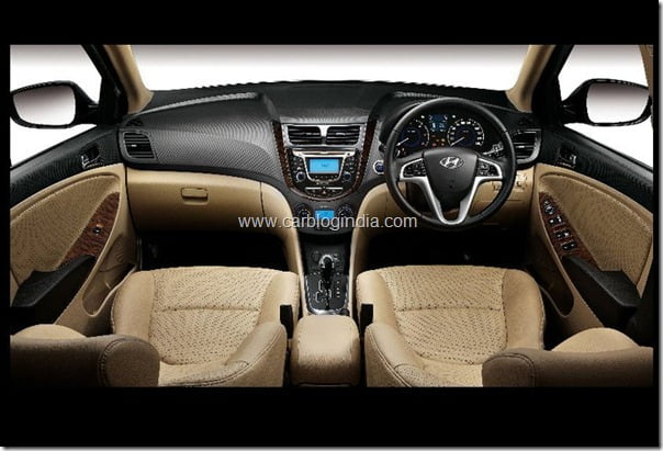 Hyundai Verna Rb 2011 Interiors and features (8)