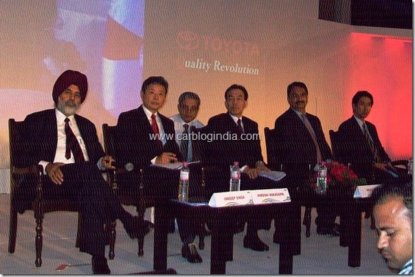 Toyota India Press Conference