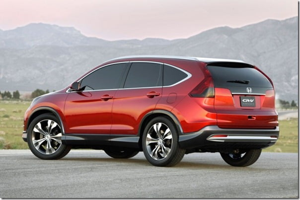 Honda CRV 2012 Official Pictures (2)