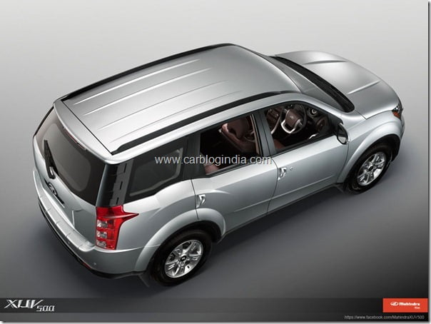 Mahindra XUV500 Official Pictures (3)