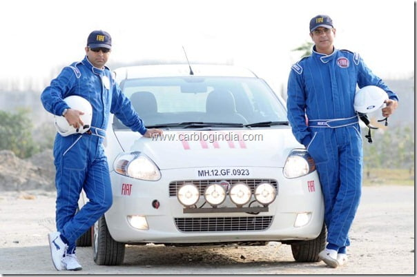 On Left- Pavan Choudhary and Right- Captain Nitin Anand.