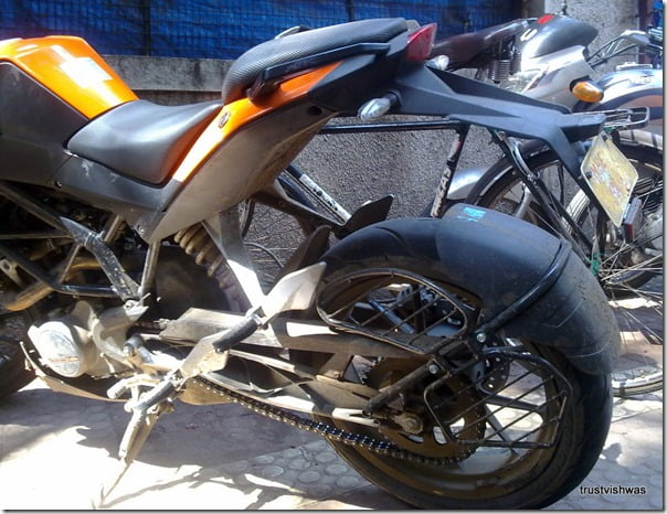 KTM Duke 200 Spy Pictures India (13)