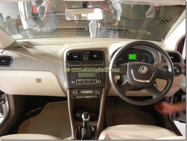 Skoda Rapid India Interior and Exterior Pictures (31)